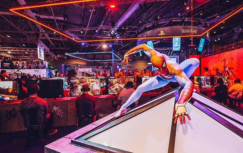 Spidey at EGX