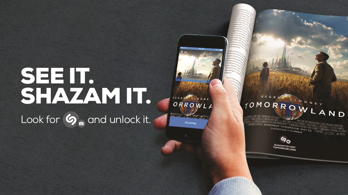 Full screen Shazam has launched an image recognition service